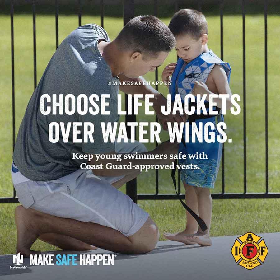 Water Safety Reminder